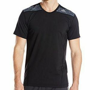 Adidas Black Climalite Techfit Base Shirt